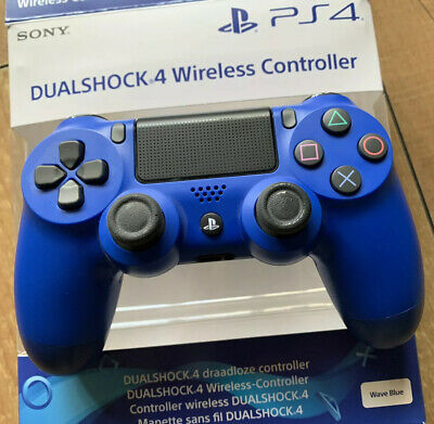 Official Sony PlayStation PS4 Game Dualshock 4 Wireless Controller Pad Wave Blue