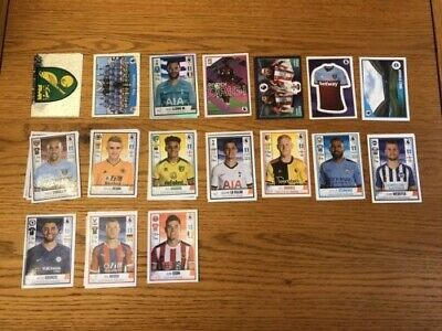 Panini Premier League 2020 Stickers Loose Pack Of 10