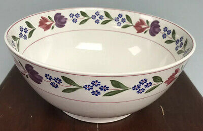 "Adams Old Colonial Large Salad/Fruit Bowl 11"" Diameter Excellent Condition RARE"