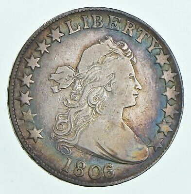 1806/5 Draped Bust Half Dollar - Large Stars *5128