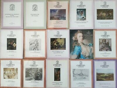 15 Christie's Art / Auction Catalogues 1983 to 1987