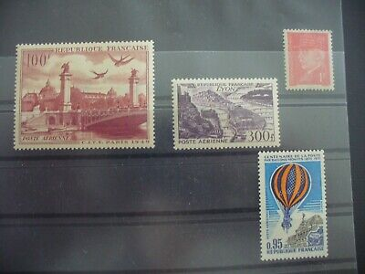 Lot Timbres Neuf Poste Aerienne France