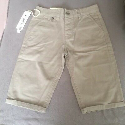 Kangol Boys Shorts. Size 11-12 Years, Beige