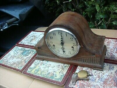 Vintage  Enfield  Westminster  Chimes Mantle  Clock  See Video See Video