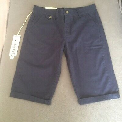 Kangol Boys Shorts. Size 11-12 Years, Navy, New