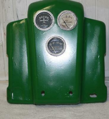 John Deere B Late Styled Tractor Dash Panel W/ Gauges See Photos In Ad