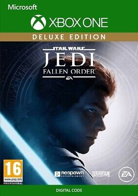 Star Wars Jedi Fallen Order Deluxe Edition Full Game Xbox One Digital Download