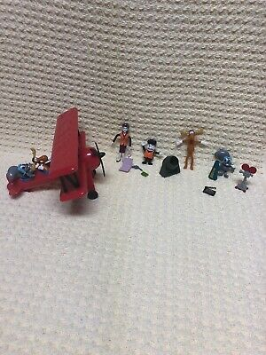 2000 Just Toys Rocky and Bullwinkle Flying Play Set