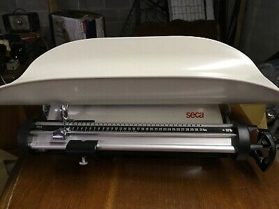 Seca Model Neo-Natal 32lb Max Infant Baby Scale Weight In Case - Excellent Cond