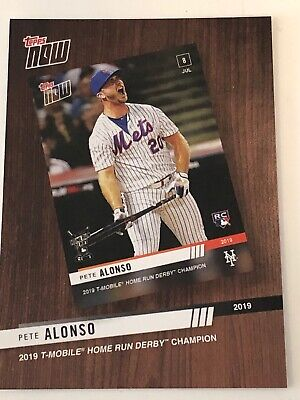 2020 Topps Series 1 Topps Now - Pete Alonso - New York Mets - Free Shipping!