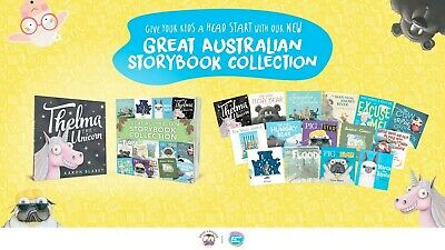 Great Australian Storybook Collection 15 Story Books + Case