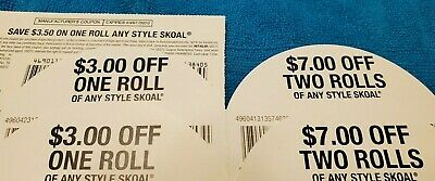 Skoal any style coupons $23.00 in value (as pictured)