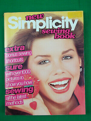 Vintage Collectable - New Simplicity Sewing Book Published 1979