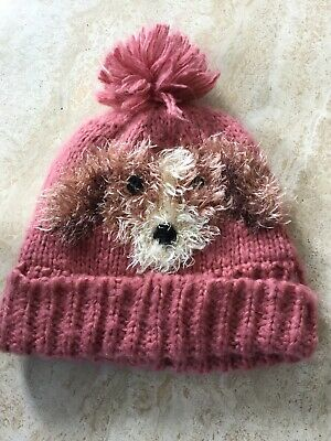 Next Hat And Scarf Set With Dog Logo Age 3-6