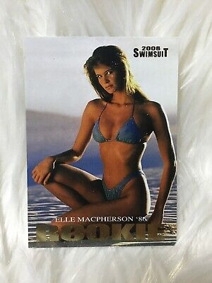 Elle Macpherson**2008 SPORTS ILLUSTRATED SWIMSUIT **  ROOKIE  **  GOLD CHASE  **