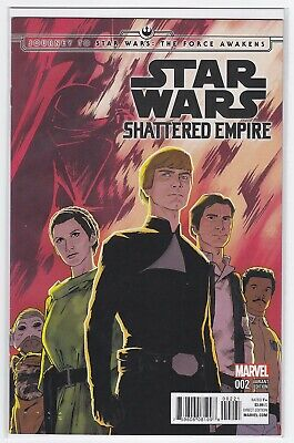 EXCLUSIVE DHC OF 4 JOURNEY TO STAR WARS THE FORCE AWAKENS SHATTERED EMPIRE #1