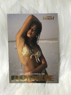 Jessica Gomes** 2008 SPORTS ILLUSTRATED SWIMSUIT **  ROOKIE  **  GOLD CHASE  *