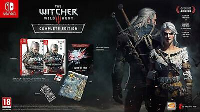 The Witcher 3 Wild Hunt Complete UK Edition (for Nintendo Switch / NS Lite) New