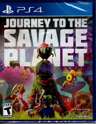 Journey to the Savage Planet (Sony PlayStation 4) PS4 new sealed video game