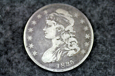 Estate Find 1835  Capped Bust Half Dollar  #D21001