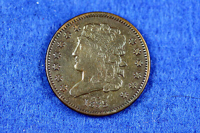 ESTATE FIND 1835 CLASSIC HEAD Half Cent  #D11316