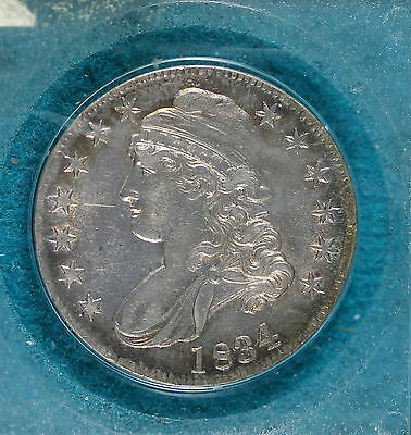 ESTATE FIND 1834 Capped Bust Half Dollar!! #B7931