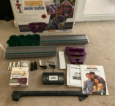 Bond America Ultimate Sweater Knitting Machine Excellent condition! Complete