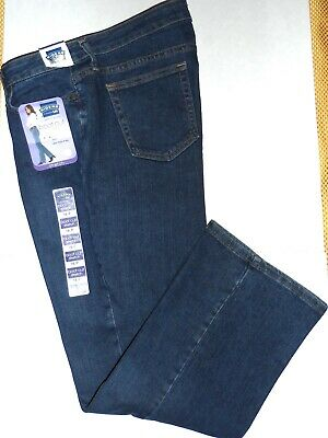 Nwt Riders By Lee Womens 16P~Bootcut Mid-Rise Stretch Blue Jeans