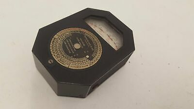 Vintage LMT Photography Light Metre French Made 19892