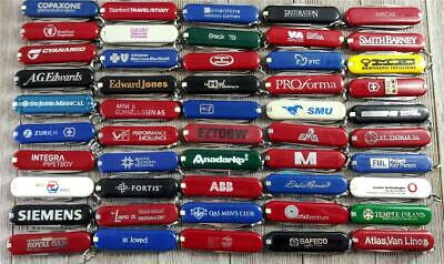 Lot of 50 Victorinox Swiss Army Knife Classic/SD/Other 58mm Advertising Nice lot
