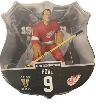 "IMPORTS DRAGON NHL 6/""  GORDIE HOWE FIGURE LIMITED EDITION OF 950 IN STOCK!"