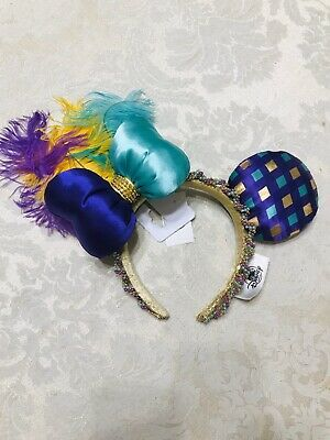 Disney Parks Mardi Gras Minnie Mouse Ears Headband New with Tags