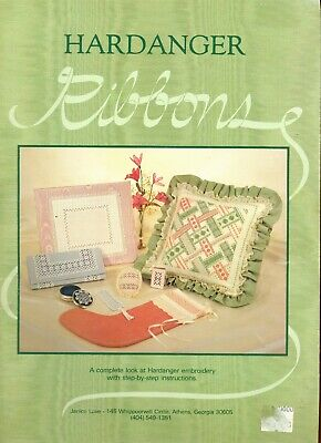 Janice Love Hardanger Ribbons Book, Retail new about $15