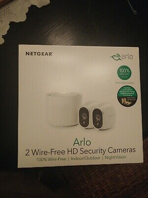 Arlo security camera system With 2 Wireless Camera's