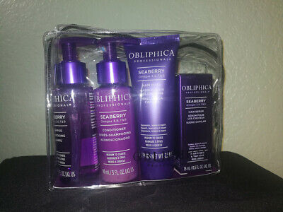 Obliphica Professional Seaberry Omegas 3, 6, 7 & 9 Hair Kit