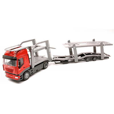 IVECO STRALIS BISARCA RED 1:43 New Ray Camion Die Cast Modellino