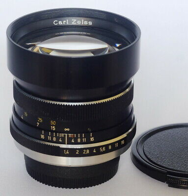 Carl Zeiss Planar 1.4 / 85mm HFT for Rollei lens Modified to Nikon F Mount