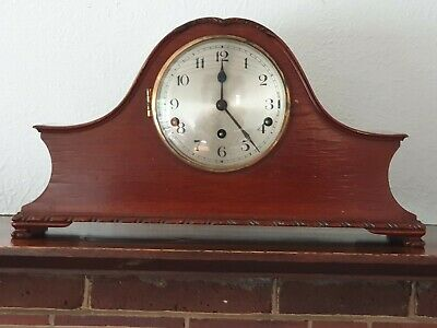 Vintage Mantle Clock - Westminster Chimes - For  Repairs (Again Stopped Working)