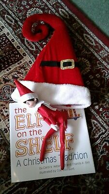 Elf On The Shelf Book And Hat
