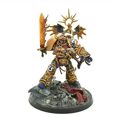 Warhammer 40K Space Marine Roboute Guilliman Painted