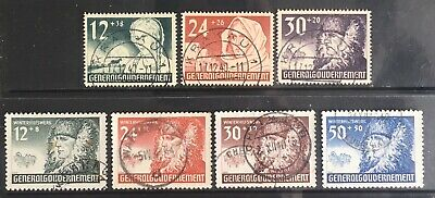 Germany 1940 1st Anniversary of General Government in Poland Used