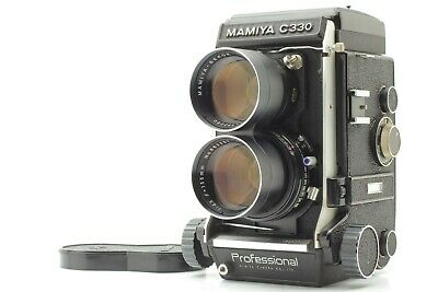[EXC5] Mamiya C330 Pro F Professional +  Sekor 135mm F4.5 blue dot lens Japan
