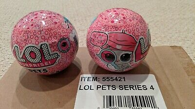 LOL Surprise! Pets Doll Eye Spy Series 4 wave 1 Authentic MGA NEW x 2 Sold Out