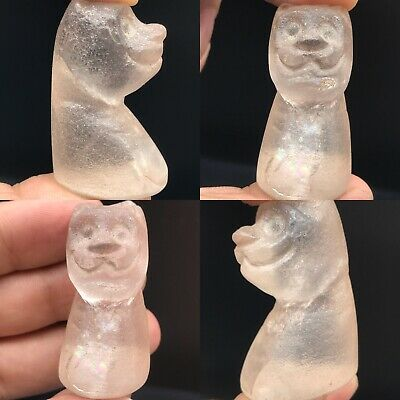 Wonderful Ancient Backtrian Crystal stone unique Chess piece