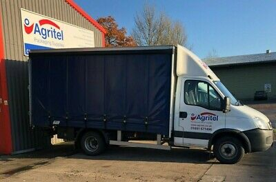 6.5 ton (not 7.5 ton) Iveco 65c18 6500kg curtainsider.