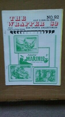 The Wrapper magazine #92 July 1990 FIGHTIN' MARINES cover EX condition