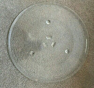 """GE Replacement Microwave Glass Plate Compatible With JVM1540LP1CS 10-1//2/"""" 10.5/"""""""