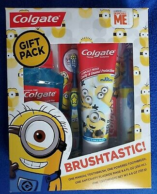 Colgate Despicable Me Toothbrush and Toothpaste Set