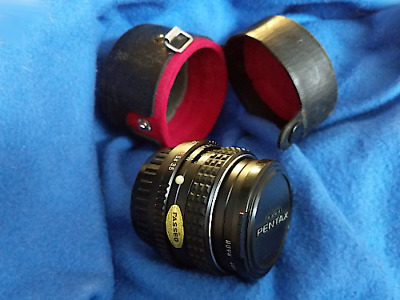 SMC Pentax-M 28mm f/3.5 Fixed Manual Wide Angle K Mount with Case