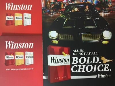Winston cigarette coupons $3 off $2 off